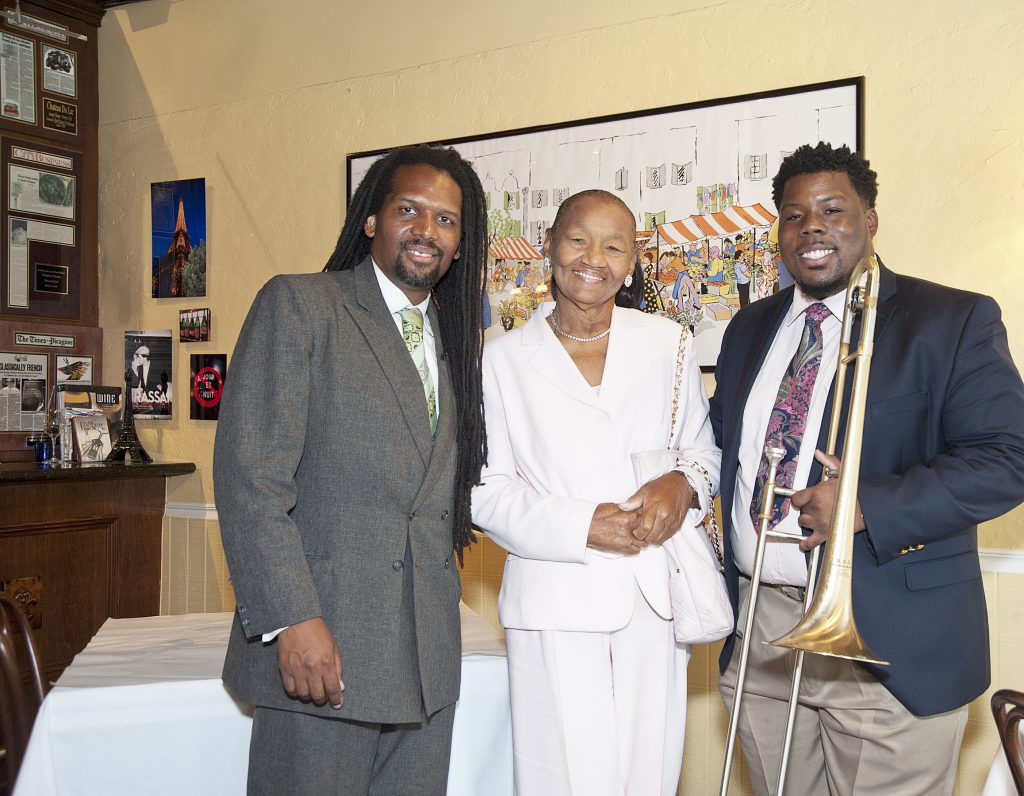 Dr Jean Montes and Pat Jackson Grandmother with Jeffery Miller