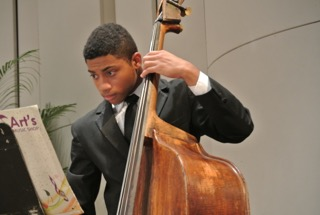 Bassist at a Performance