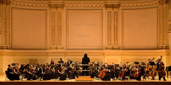GNOYO on Stage at Carnegie Hall