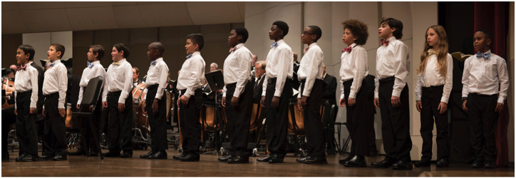 Boys Choir Symphony Chorus Performanxce