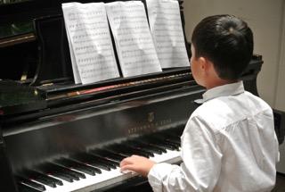 Pianist Pre Concert Warm Up