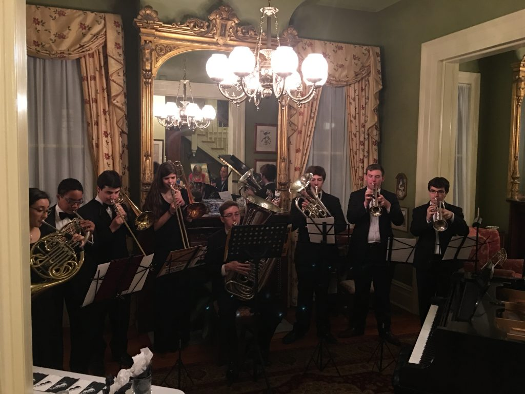 Brass Chamber Ensemble Performance at the GNOYO Soiree