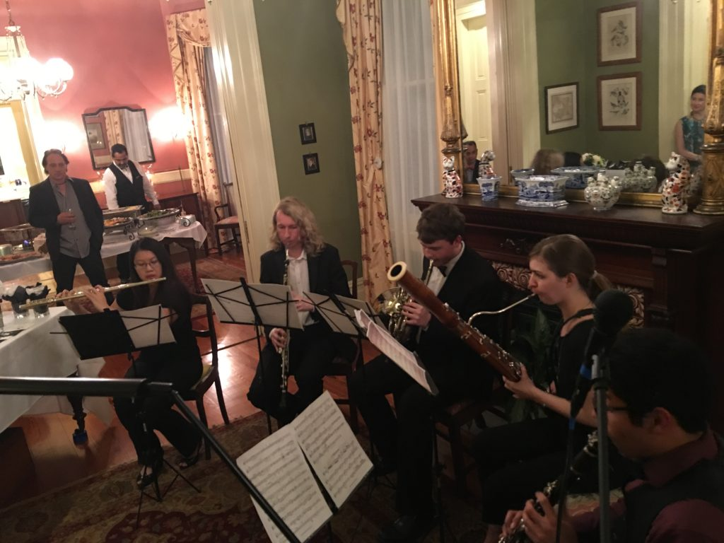 Woodwind Chamber Ensemble Performance at the GNOYO Soiree
