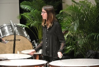 Timpanist at a Performance